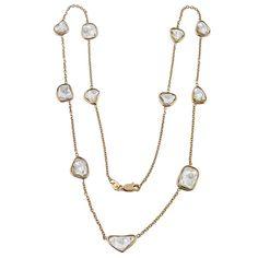 14k pink gold necklace 2