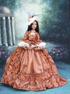 Rococo fashion for Deja Vu 16\