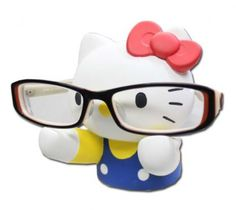hello kitty glasses holder gimme!