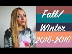 Колористика сезона Осень-Зима 2015-2016 ♡ Модные цвета Pantone - YouTube