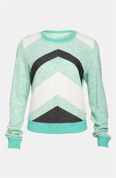 Lucca Couture Chevron Stripe Sweater - http://womenspin.com/clothing/sweaters/lucca-couture-chevron-stripe-sweater/