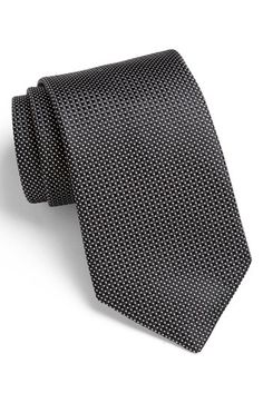 Nordstrom Woven Silk Tie available at #Nordstrom  Orange