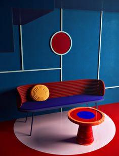 Daria Zinovatnaya et son design surréaliste – Clem Around The Corner – Futuristic Furniture Designs Bauhaus Interior, Interior Architecture, Interior Design, Interior Paint, Funky Furniture, Design Furniture, Art Furniture, Barbie Furniture, Garden Furniture