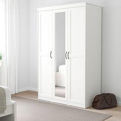 "SONGESAND Wardrobe, white, 47 1/8x23 5/8x75 1/4"" - IKEA"