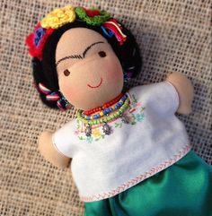 10-inch Frida Kahlo (waldorf inspired) doll