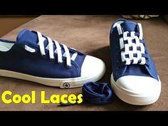 696250a55da6 LACE SHOES - 5 cool ideas how to tie shoe laces