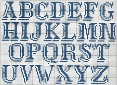 Monograma ponto cruz