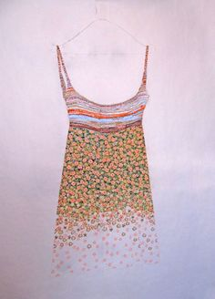 Teresa Cinque, Garde Robe, pastello su carta, 120x150_2012