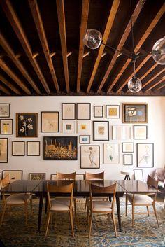 gallery wall | by Brittany Ambridge for Martha Stewart Living