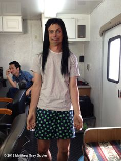 Matthew Gray Gubler's photo: other people's wigs #3