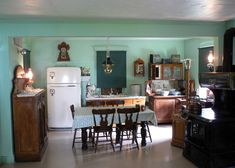 Amish Pennsylvania Kitchen