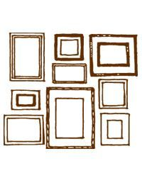 How to Hang Picture Frames - Home Decorating Tips! Multiple Picture Frame, Hanging Picture Frames, Hanging Pictures, Frames On Wall, Picture Wall, Picture Groupings, Frames Decor, Wall Groupings, Frames Ideas