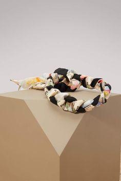 2545bb2198f Buy Gucci Stamp silk headband online on 24 Sèvres.