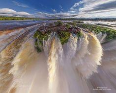 Iguasu falls, Devils throat