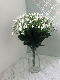 Excited to share the latest addition to my #etsy shop: Artifical Faux Fake Flower Arrangement Vase Gypsophlia Bush White Ivory Home Interior Decor Summer Blush House Design Living Flowers Floral Fake Flower Arrangements, Fake Flowers, Tree Of Life Necklace, Gypsophila, Contemporary Design, Glass Vase, Interior Decorating, Blush, Ivory