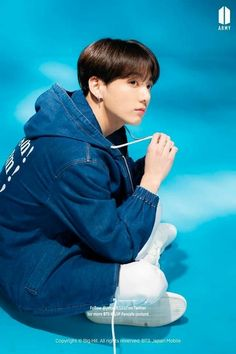 BTS boy with luv/lights Jacket shooting