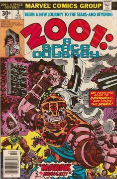 2001: A SPACE ODYSSEY #3 by Jack Kirby
