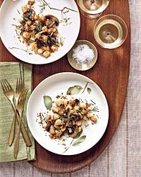 Scallop and Mushroom Pan Roast