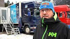 """Suomen hiihtomaajoukkueen huoltorekan kuski ei juuri kotona käy – """"Serpentiinitiet eivät pelota"""""""