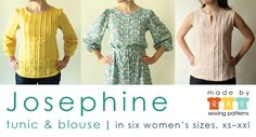Josephine Sewing Pattern is here! - Made By Rae
