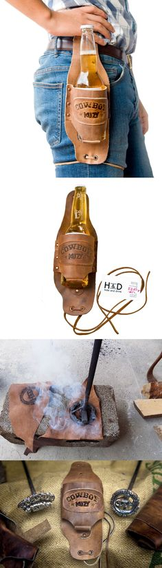 Leather Beer Holster                                                                                                                                                     More