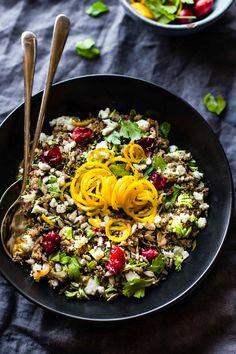 Crock Pot Quinoa Pilaf {Gluten Free, Vegetarian}