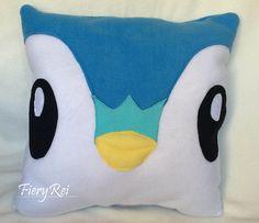 Piplup Pokemon Pillow Plush Large Size
