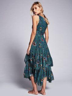 Barbara di Creddo || FP Catching Glances Midi Dress (Jade Combo)