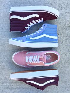 VANS || New Fall Colors