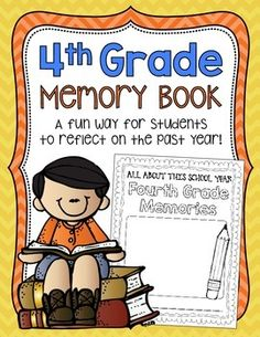 This memory book is packed with fun and engaging pages for kids to reflect on their year! :)