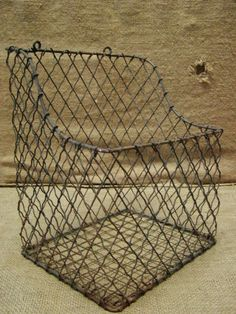 attach to pantry for onions and potatoes - wire basket