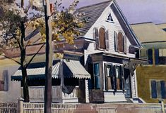 The Original Edward Hopper Houses - Photo Essay - NYTimes.com