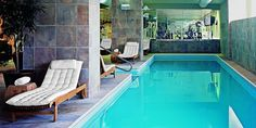 The fitness center and indoor pool are good for a detox. #Jetsetter