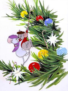 Happy Holidays from Disney's The Rescuers
