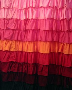 Shower curtain sewing tutorial