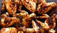 Herbed Grilled Chicken Wings except I baked in the oven.  everybody loved and super easy on a weeknight!