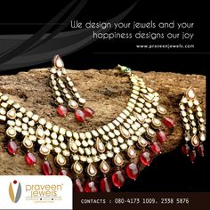 At Praveen jewels, every #jewelry is a piece of extreme craftsmanship and skilled design. Come shop from us! http://www.praveenjewels.com/product/product&product_id=2104