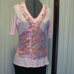 Reconstructed Recycled EcoFriendly Ladies' by GoodKharmaReThreads, $34.99