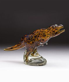 Loving this Glass Tyrannosaurus Rex Dino Décor on Tyrannosaurus Rex, Glass Animals, Lion Sculpture, Rooms, Statue, Gallery, Awesome, Ideas, Products