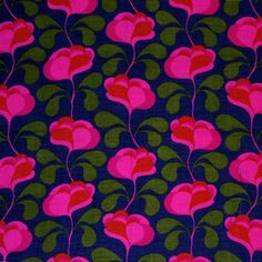 modflowers: vintage Finnish fabric designed by Juhani Konttinen, Textile Patterns, Textile Prints, Color Patterns, Print Patterns, Lino Prints, Block Prints, Retro Fabric, Vintage Fabrics, Vintage Patterns