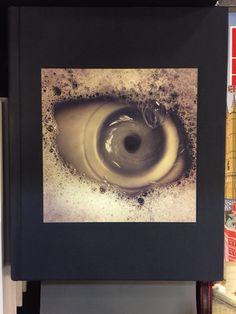 Looks like an eye - actually a plug hole with soap sudds
