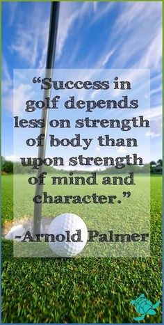 arnold palmer success quote - This quote made possible by http://www.waterfront-properties.com/golfcoursehomes.php #GolfTipsForYouGuys