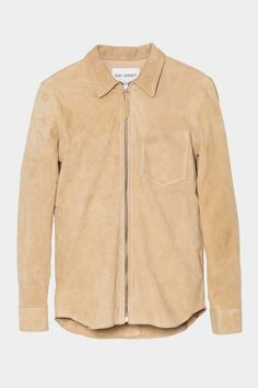 Our Legacy - Suede Zip Shirt