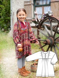 Read the article 'Wild Wonderland: 9 New Children's Sewing Patterns' in the BurdaStyle blog 'Daily Thread'.