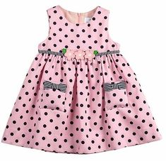 Florence Eiseman Girls Pink / Navy Blue Dots Sun Dress - Florence Eiseman Girls Pink / Navy Blue Dots Sun Dress You are in the right place about kylie jenner - Baby Pink Dresses, Girls Party Dress, Little Dresses, Little Girl Dresses, Girls Dresses, Flower Girl Dresses, Dress Party, Toddler Dress, Toddler Outfits