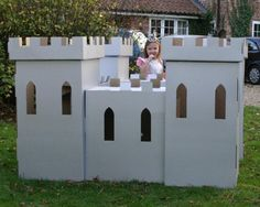 Image result for comohacer castillos de carton