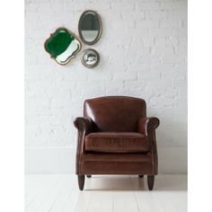 Vintage Leather Brooklyn Armchair