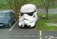 The force is with this RV...teehee