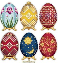 Easter Eggs Faberge Style