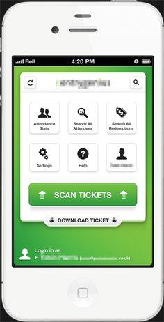 Application-full, iPhone UI, Dashboard